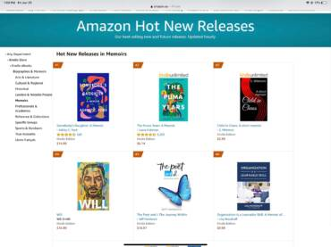 The Poet and I – The Journey Within – Top 5 Amazon Hot New Releases Thanks to You